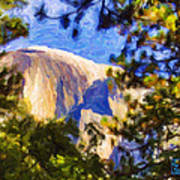 Half Dome Opus I Poster