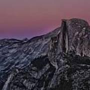 Half Dome Twilight Poster