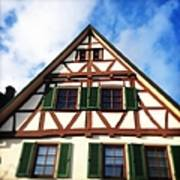 Half-timbered house 02 Poster
