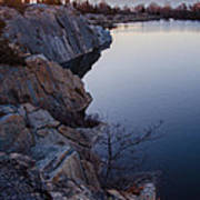 Halibut Point In Rockport Poster