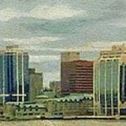 Halifax From The Harbour Poster
