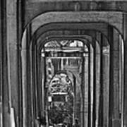 Hall Of Giants - Beneath The Aurora Bridge Poster