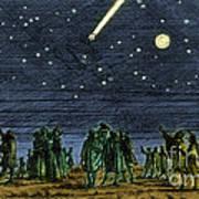 Halleys Comet 1682 Poster