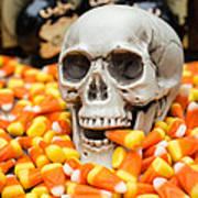Halloween Candy Corn Poster