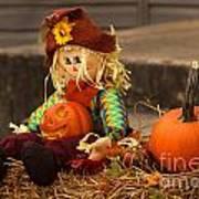 Halloween Doll Poster