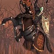 Halloween Knight Poster by Daniel Eskridge