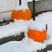 Halloween Snow Poster