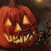 Halloween Spider Poster