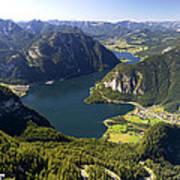 Hallstatt Lake Austria Poster