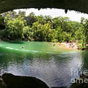 Hamilton Pool Cave Poster
