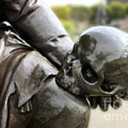 Hamlet Contemplating The Skull  Poster by Terri Waters