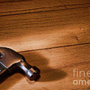 Hammer On Wood Poster