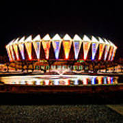 Hampton Coliseum Christmas Poster