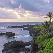 Hana Arches Sunrise 3 - Maui Hawaii Poster