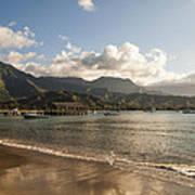 Hanalei Bay Pier - Kauai Hawaii Poster