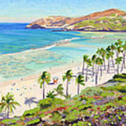 Hanauma Bay - Oahu Poster