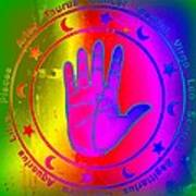Hand Signs Poster