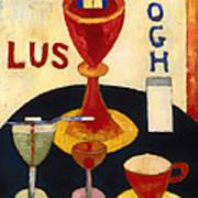 Handsome Drinks Poster