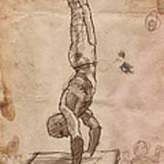 Handstand Poster