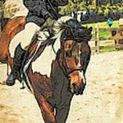Hang On To Your Painted Horse Poster