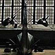 Hangar B Floyd Bennett Field Poster