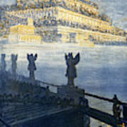 Hanging Gardens Of Babylon Poster