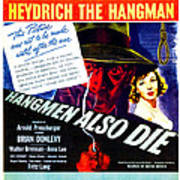 Hangmen Also Die, Us Poster, From Left Poster