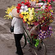 Hanoi Flowers 01 Poster