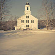 Hanover Center Church Etna New Hampshire Poster