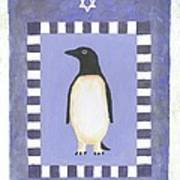 Hanukka Penguin Three Poster