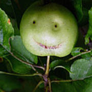 Happy Apple Poster