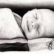 Happy Baby Poster by Rosalinda Markle