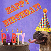 Happy Birthday Card Poster