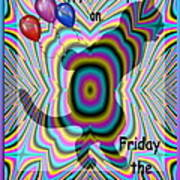 Happy Birthday On Friday The 13th Poster