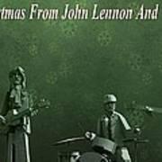 Happy Christmas From John Lennon Poster