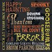 Happy Haunting Poster