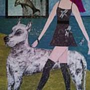 Happy Walk By Jasna Gopic Poster