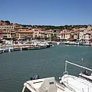 Harbor Cassis Poster