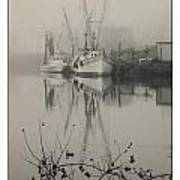 Harbor Fog No.4 Poster
