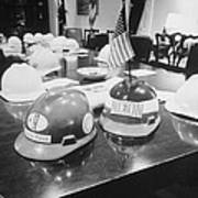 Hard Hats In The Nixon White House Poster