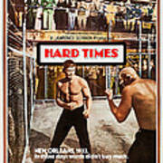 Hard Times, Us Poster Art, Front Poster
