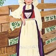 Hardanger Girl Poster
