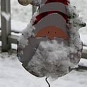 Hardworking Santa Poster