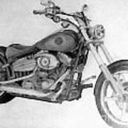 Harley Davidson Big Boy Toy Poster