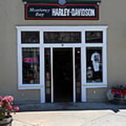 Harley Davidson Store On Monterey Cannery Row California 5d25064 Poster