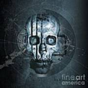 Harmagedon Blue-gray Poster