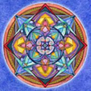 Harmony Mandala Poster