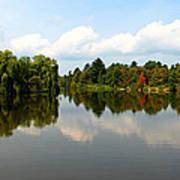 Harmony On The Boyne River Poster
