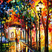 Harmony - Palette Knife Oil Painting On Canvas By Leonid Afremov Poster
