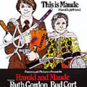Harold And Maude, L-r Bud Cort, Ruth Poster